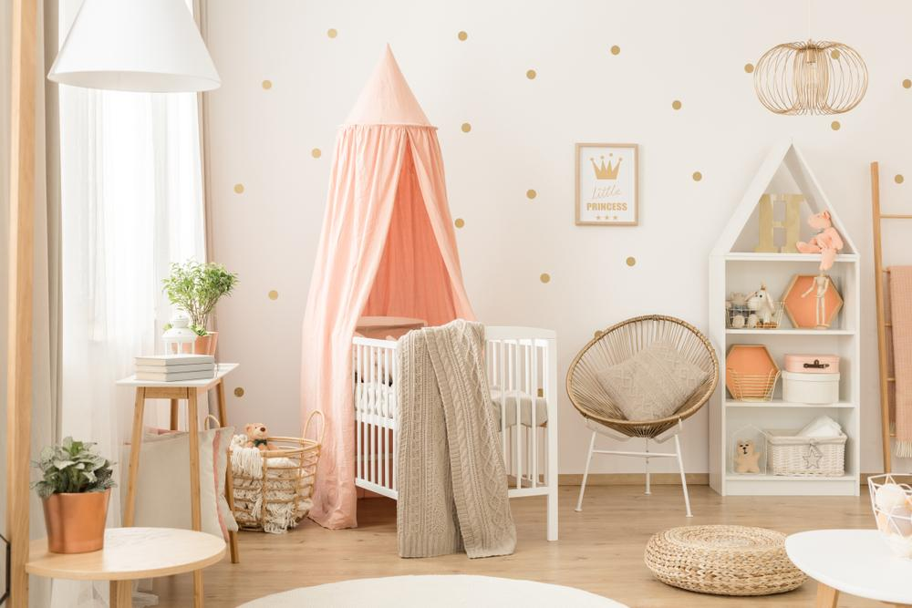 Luxe Nursery design