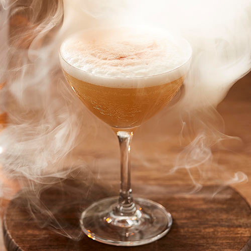Gunsmoke cocktail