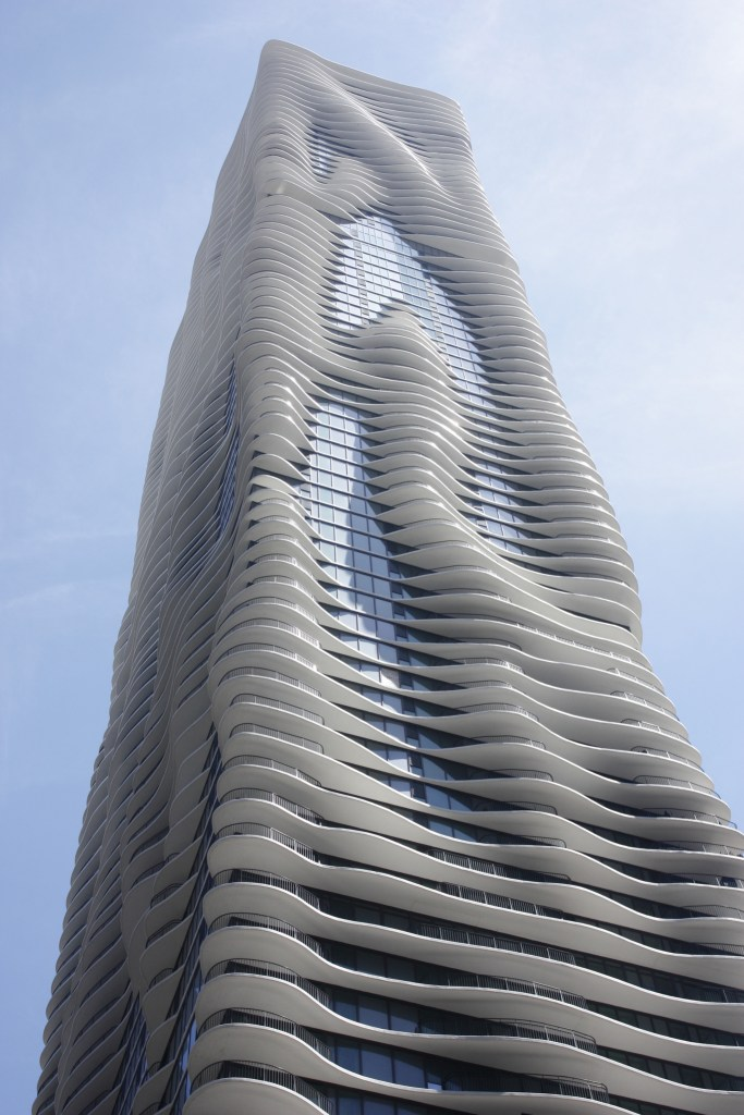 Aqua Tower courtesy of Chicago Architecture Center