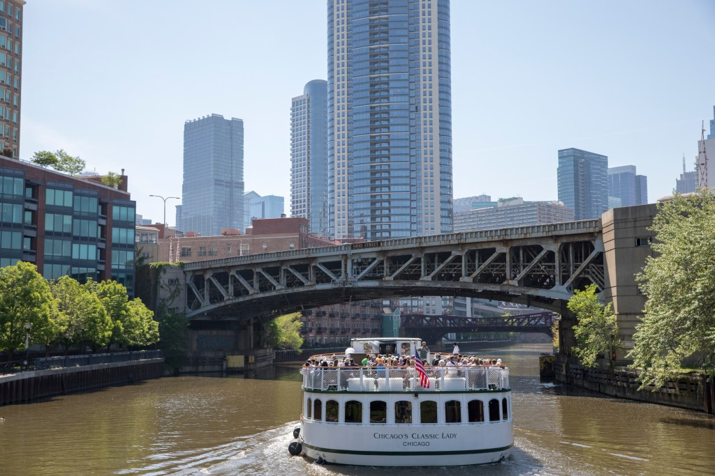 Image courtesy of Chicago's First Lady Cruises