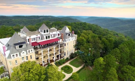 Haunted Ozarks at the 1886 Crescent Hotel and Spa in Eureka Springs