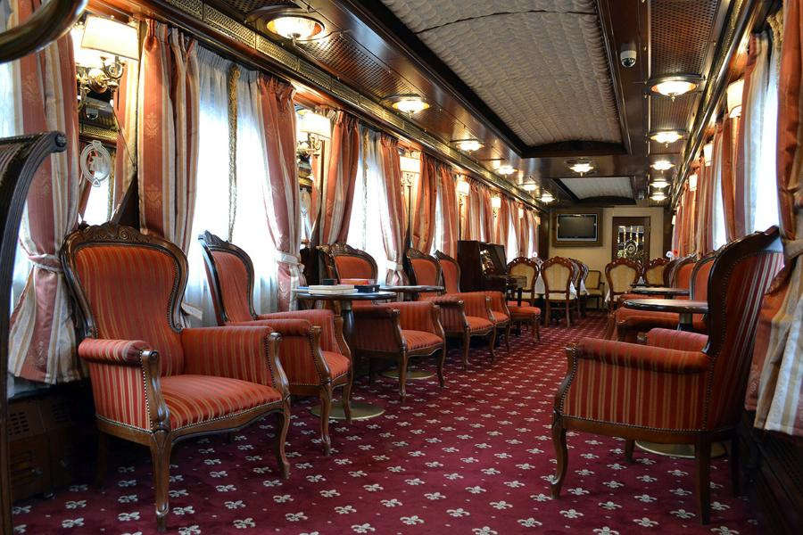 Luxury Trans-Siberian railway trip by IMPERIAL RUSSIA Train