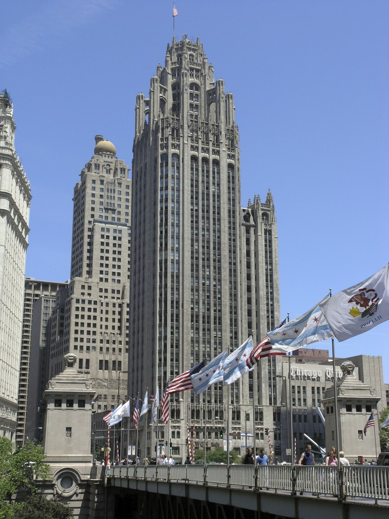 Tribune Tower courtesy of Chicago Architecture Center