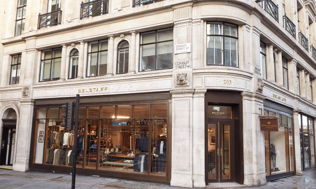 Belstaff Opens New Concept Store on Regent Street