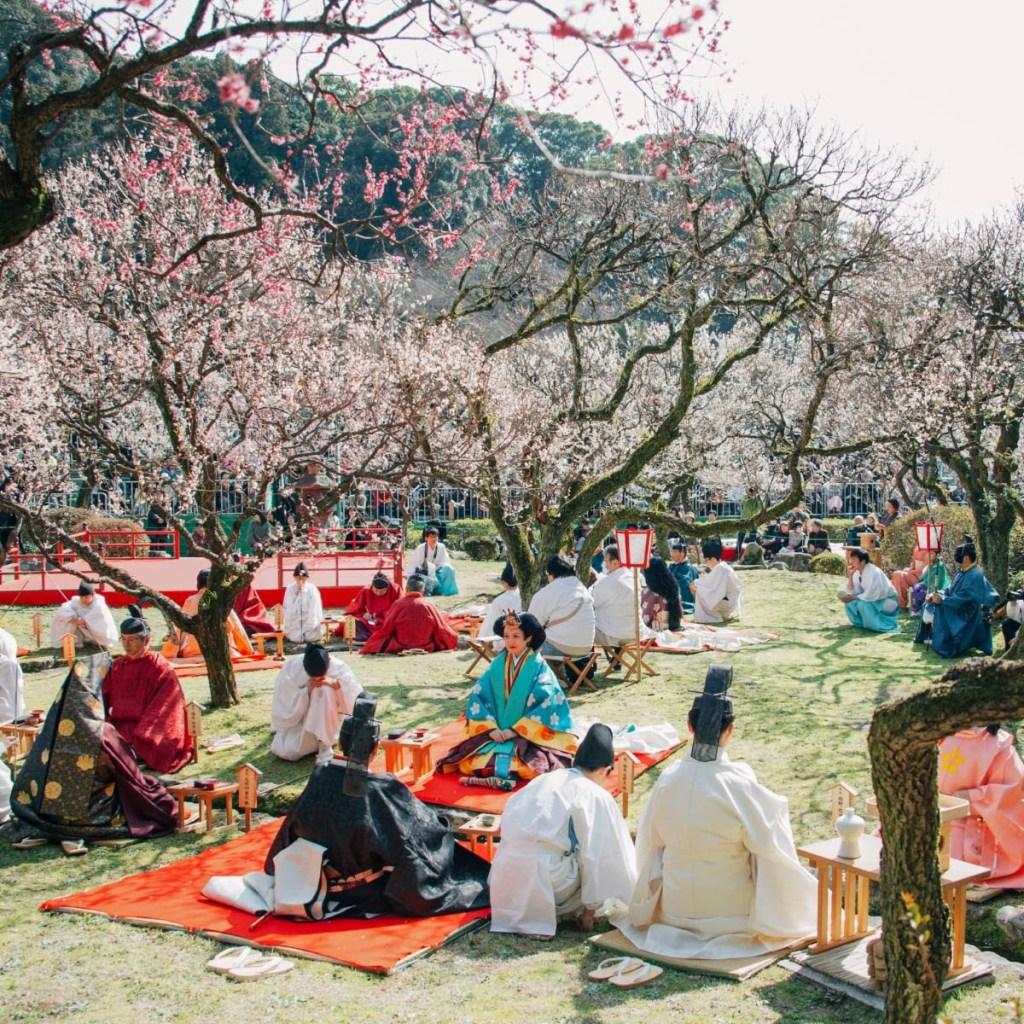 Kyokusui no Utage, Fukuoka Prefecture, Kyushu