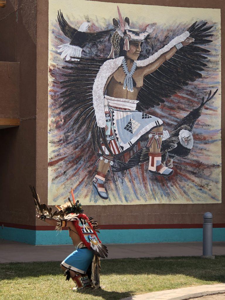 Zuni dancer