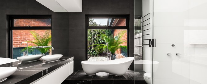 Victoria + Albert bathroom inspirations by Luxe by Design, Brisbane. Project photo courtesy of Canny Group Melbourne.