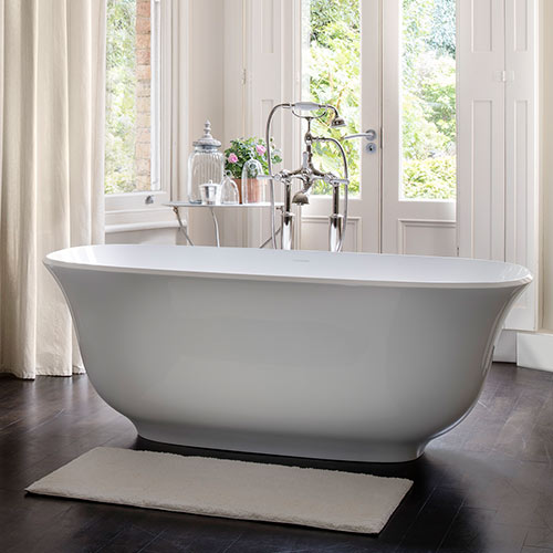 Victoria + Albert Amiata stone bath - distributed in Australia by Luxe by design, Brisbane.