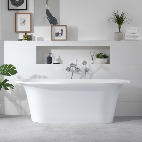 Victoria + Albert Monaco stone bath - distributed in Australia by Luxe by design, Brisbane.