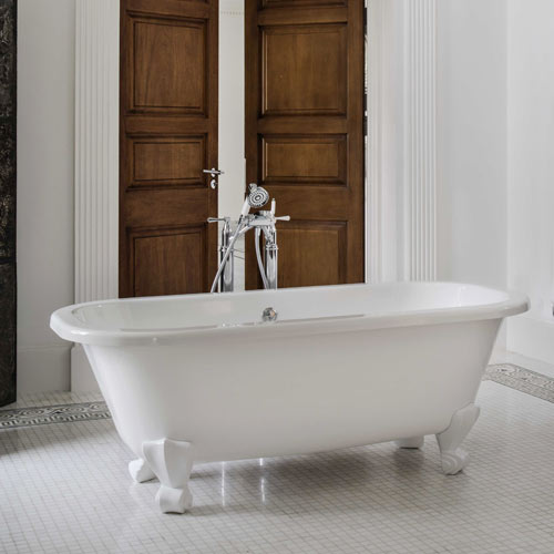 Victoria + Albert Richmond stone bath - distributed in Australia by Luxe by design, Brisbane.