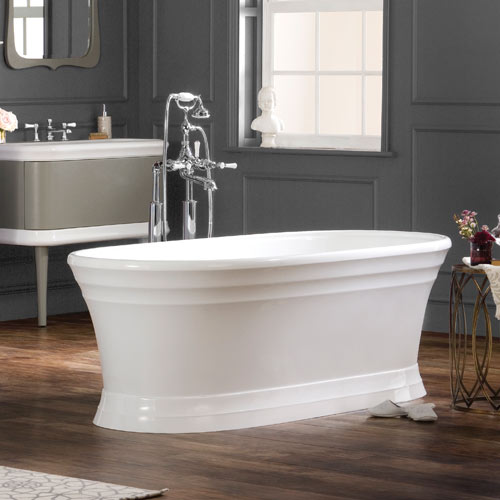 Victoria + Albert Worcester stone bath - distributed in Australia by Luxe by design, Brisbane.