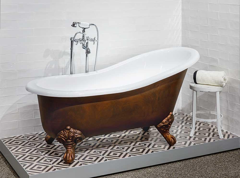 Victoria + Albert Shropshire bath - Brushed Bronze