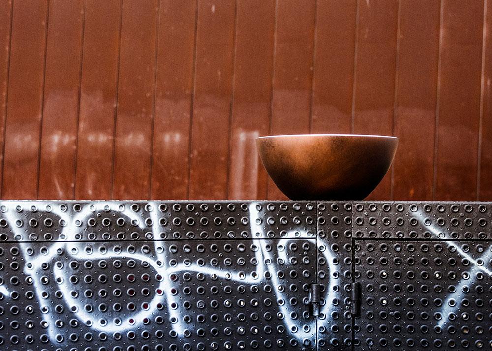 Victoria + Albert Maru basin in Industry Bronze by Luxe by Design, Brisbane.