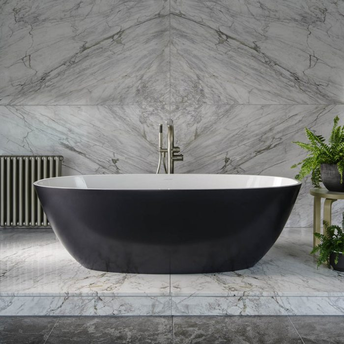 Victoria + Albert Barcelona 2 freestanding modern bath. Distributed in Australia by Luxe by Design, Brisbane.