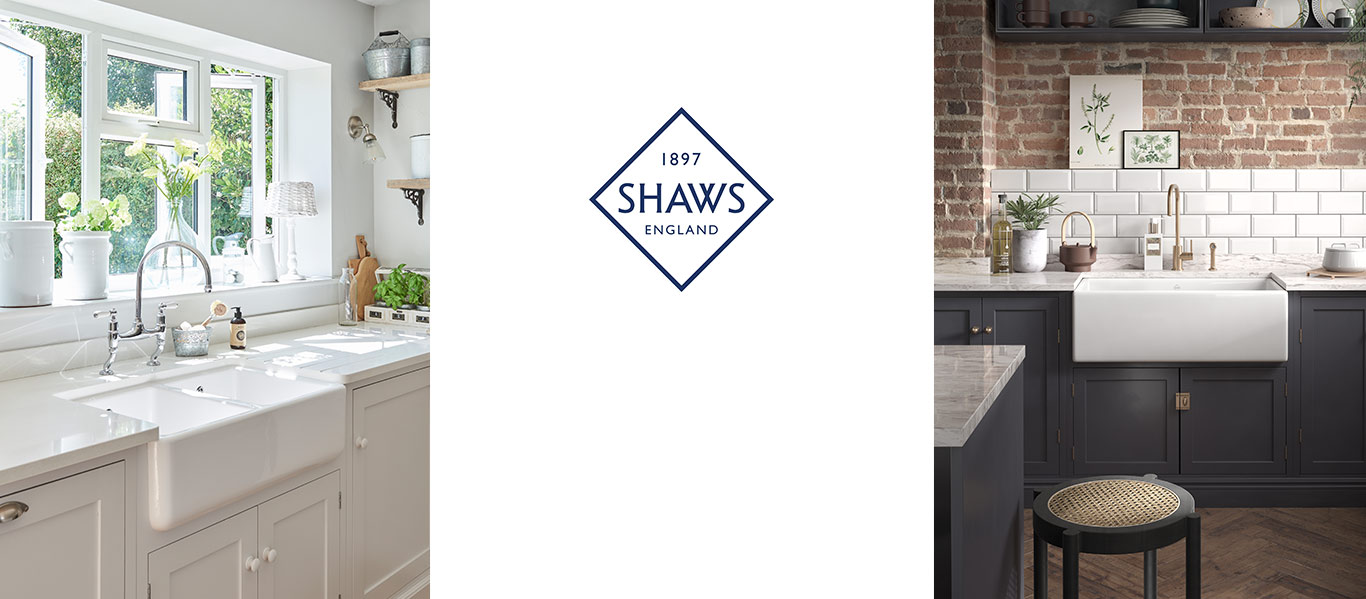Shaws of Darwen Butler Sinks - Fireclay farmhouse sinks, distributed in Australia by Luxe by Design, Brisbane.