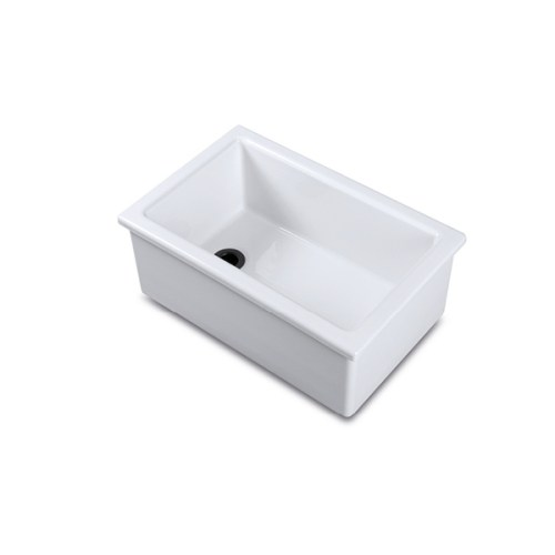 Shaws Laboratory type 3 sink. Fireclay sink for labs, schools and professional kitchens by Shaws of Darwen, England. Imported and distributed in Australia by Luxe by Design, Brisbane.