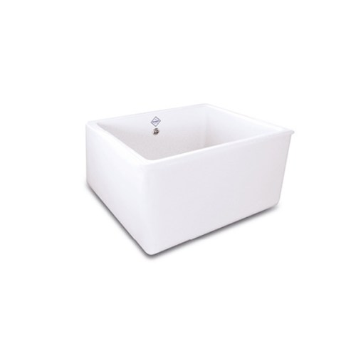 Shaws Whitehall Sink. 600mm single bowl fireclay butler sink by Shaws of Darwen, England. Imported and distributed in Australia by Luxe by Design, Brisbane.