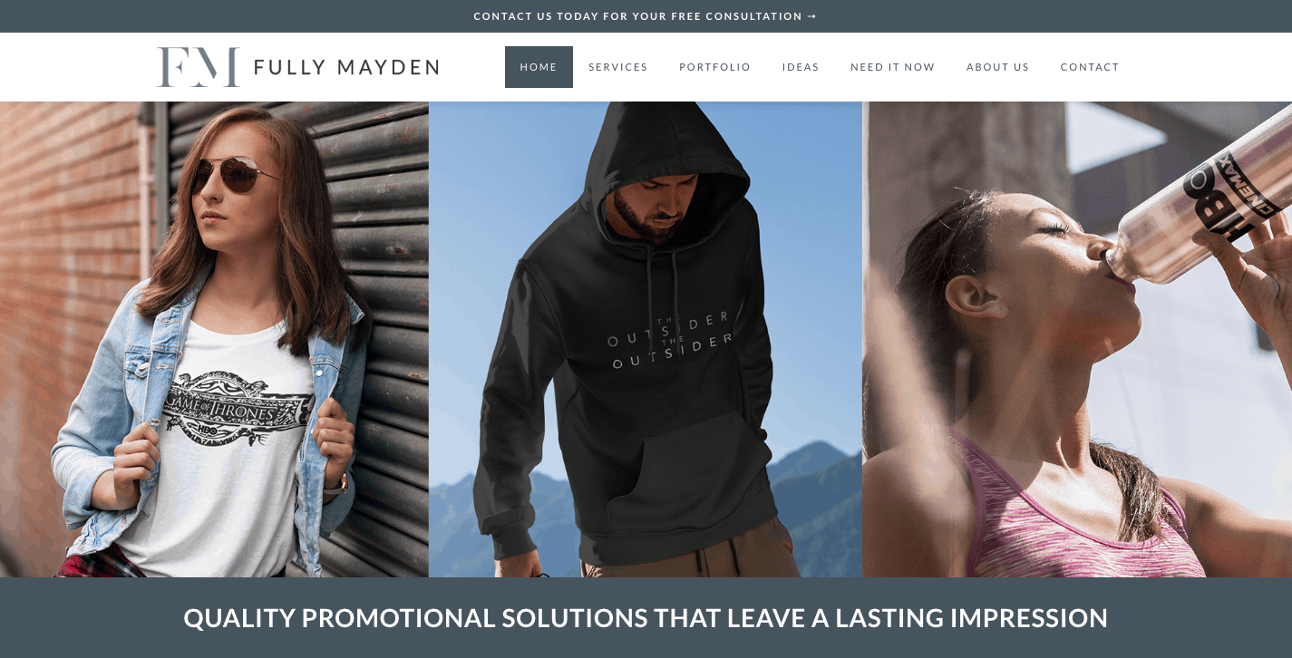 Fully Mayden - Quality Promotional Solutions