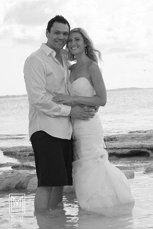Stephanie and Jamies Destination Wedding in Turks  Caicos  luxedestinationweddingscom