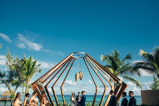 Danielle and Curtis Destination Wedding in the Riviera Maya Mexico  luxedestinationweddingscom