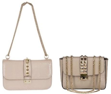 Valentino Beige Python Bag and Valentino Bag Look-Alikes