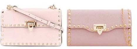 Valentino Pink Bag and Valentino Bag Dupes