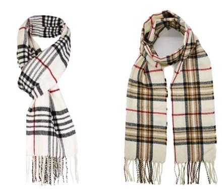 Wool-Blend Burberry Scarf Alternatives