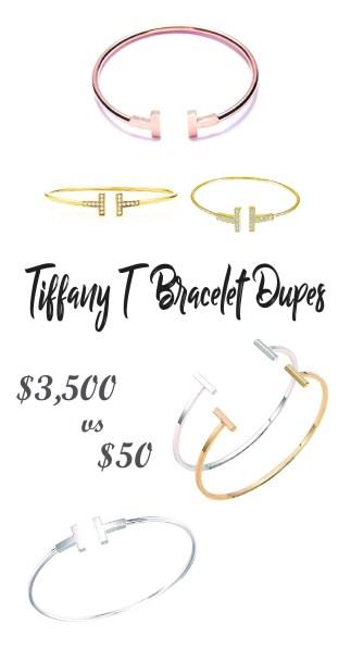 The Best Tiffany T Bracelet Dupes on Amazon