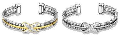 David Yurman X Bracelets Dupes