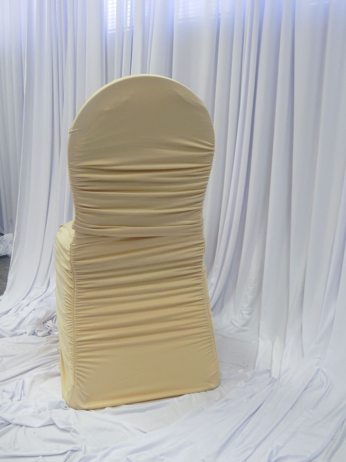 Champagne Chair Covers Champagne Flair Chair Cover Luxe Event Linen