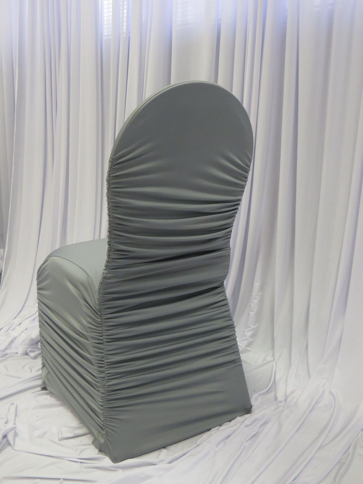 Silver Chairs Chair Covers Gallery Luxe Event Linen