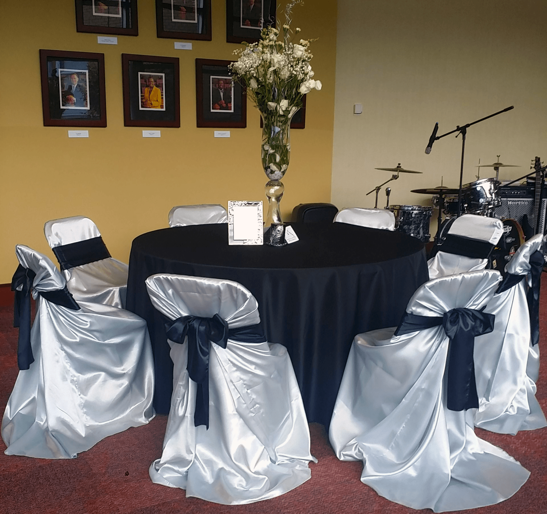 Chair Covers Rental Grey Satin Folding Chair Cover Luxe Event Rental