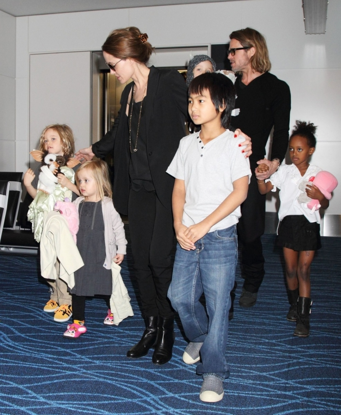 Actors are raising six children, three of them and three biological - adoptive