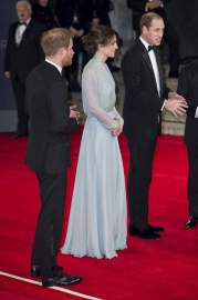 "The film ""Spectrum"", which became the twenty-fourth in a row on the tape Bond appreciated Kate Middleton and Prince Harry and William"