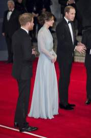 """The film """"Spectrum"""", which became the twenty-fourth in a row on the tape Bond appreciated Kate Middleton and Prince Harry and William"""