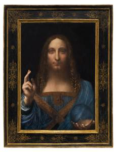 $ 450.3 million for a secret of Leonardo da Vinci