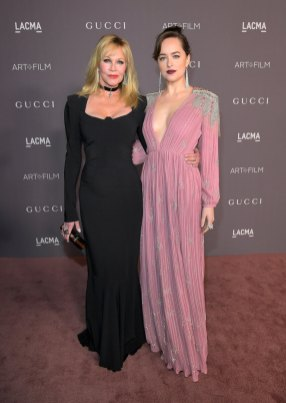 Melanie Griffith with her daughter Dakota Johnson