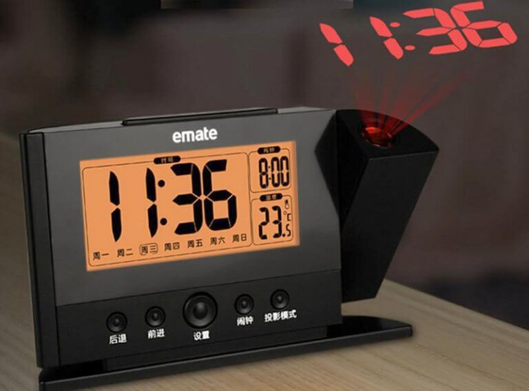 unusual and stylish alarms clocks