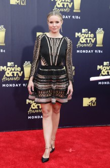 Stars at the MTV Movie Awards