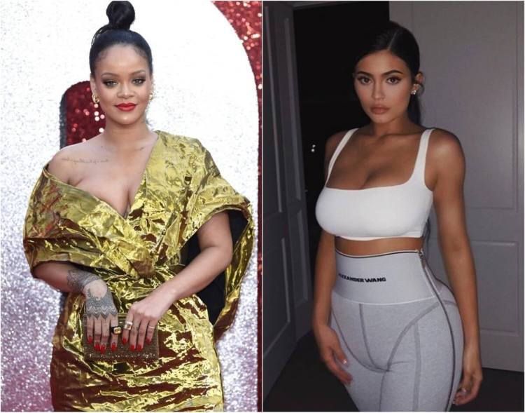 Rihanna and Kylie Jenner A list of the most influential people