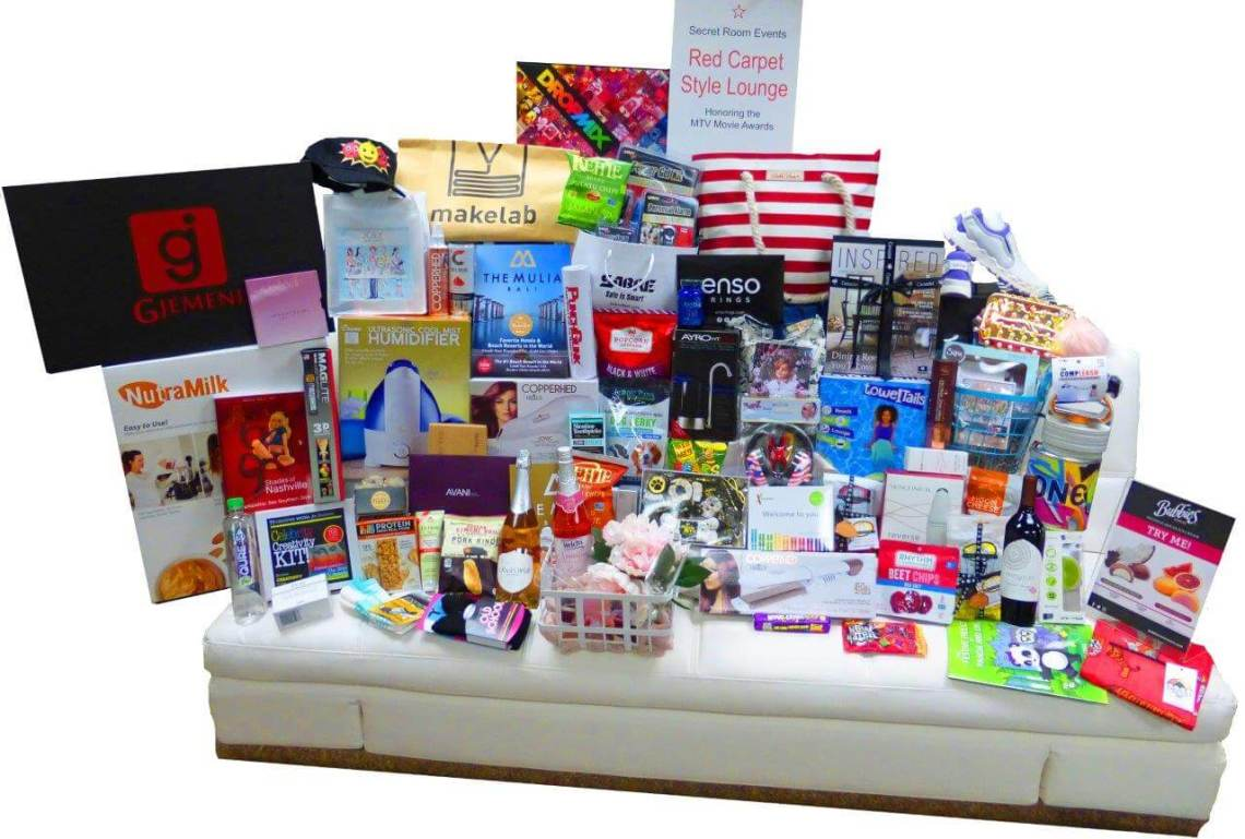 Secert Room Events MTV Tote Gift Bag Gifting Suite