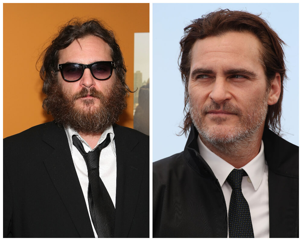 Joaquin Phoenix Celebrities, who made disheveled hair as Signature Style 1
