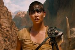 Charlize Theron in the movie Mad Max Fury Road