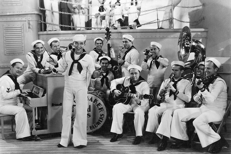 Following the Fleet 1936. Rexfeatures.com