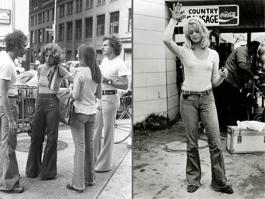 Rolling Stones fans and actress Goldie Hawn, 1970s Rexfeatures.com