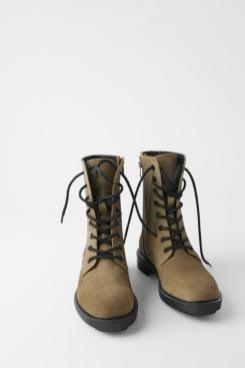 Rough boots Zara