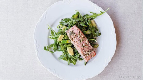 Al Forno Salmon Salad from Alexandria Crowe