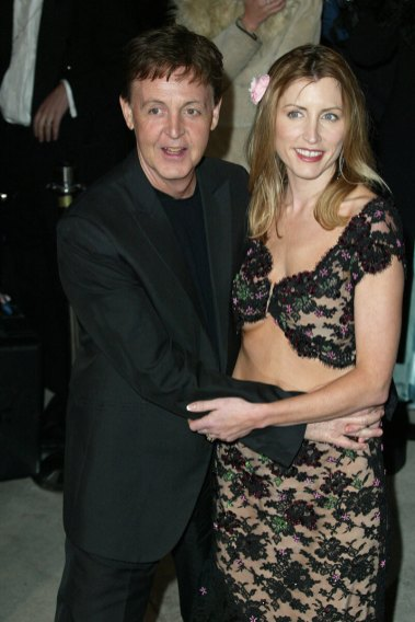 Paul McCartney ex-wife