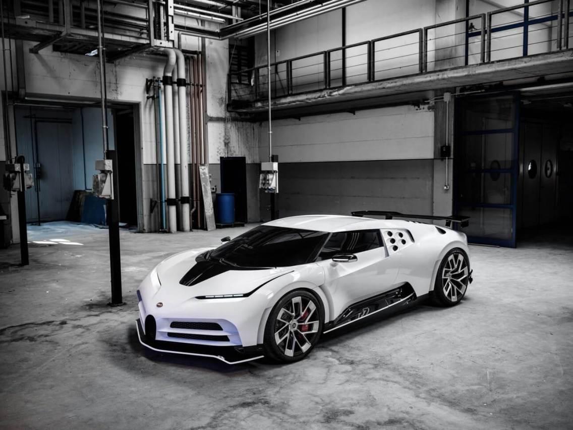 Bugatti Centodieci hypercar