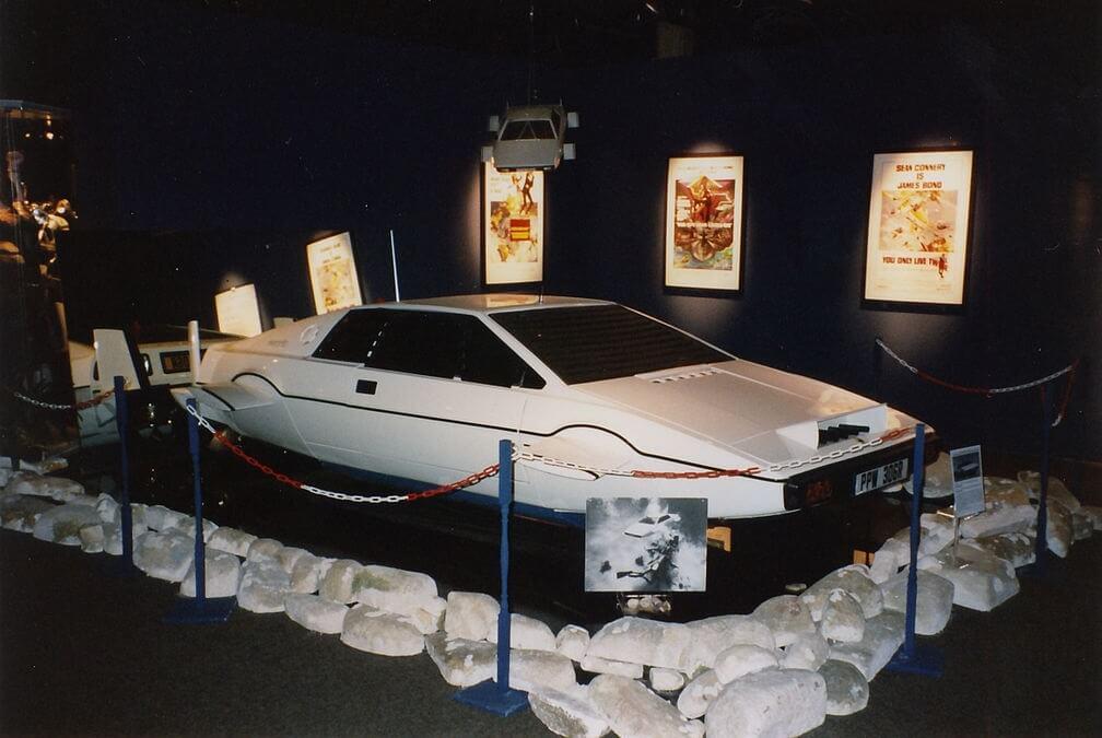 Lotus Esprit Submarine
